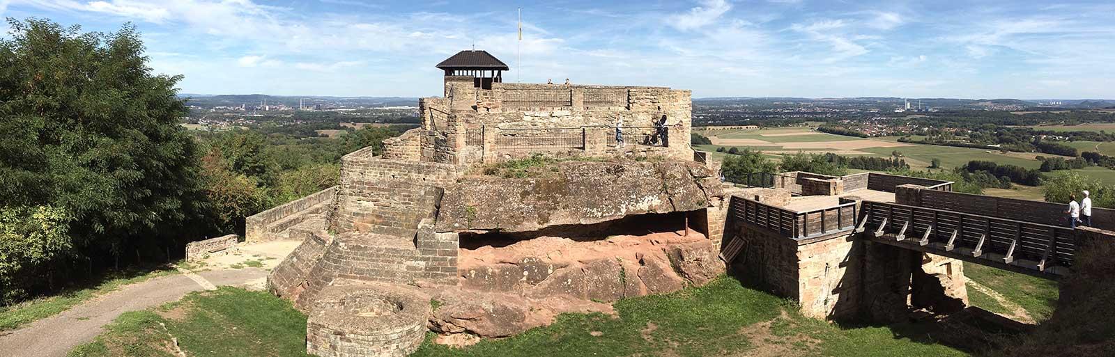 Überherrn Teufelsberg Panorama