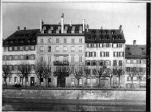 Das ehem. Hotel de l'Esprit in Straßburg