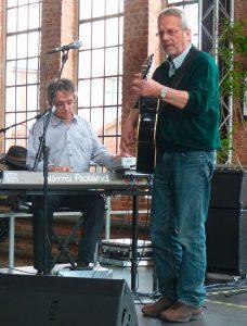 Lorang (r.) mit Richard Bauer 2012 - Foto: Peter Eckert
